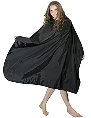 XMW Professional Water Repellent Nylon Hair Styling Salon Cape with Snaps