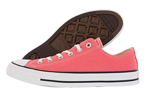 Converse Chuck Taylor All Star 2018 Seasonal Low Top Sneaker, Punch Coral, 6 -