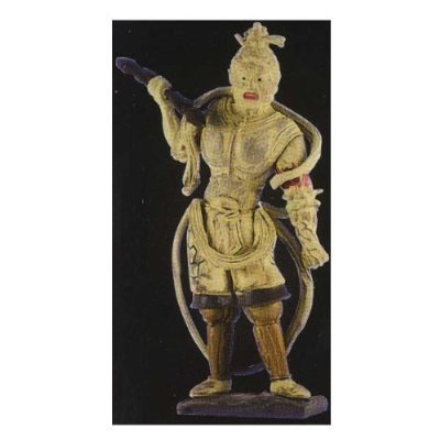 Epoch heart Buddha Collection 2 of the sum Executive Kongo god statue normal type Gachapon figure haunch Yasuro