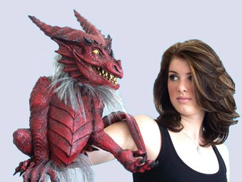 Scary Puppet Costumes - Morris Costumes Dragon Puppet,