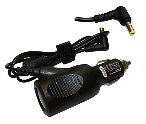 Power4Laptops DC Adapter Laptop Car Charger for Acer Aspire E5-521-69XK, Acer Aspire E5-521-816B, Acer Aspire E5-521-8175, Acer Aspire E5-521-818G, Acer Aspire E5-521-83CV
