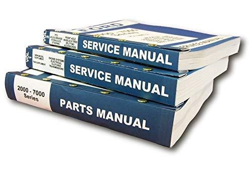Lot New Ford 3000 4000 Series Tractor Service Repair Shop Parts Manuals ()