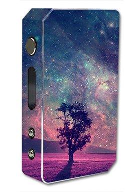 Skin Decal Vinyl Wrap For Pioneer 4 You Ipv3 Li 165W Watt Vape Mod Box   Sky Tree Stars
