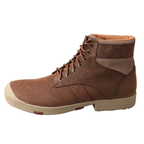 Twisted X Mens Brown Leather Crazy Horse Casuals for Cowboys Boots 7W 0R9NKv