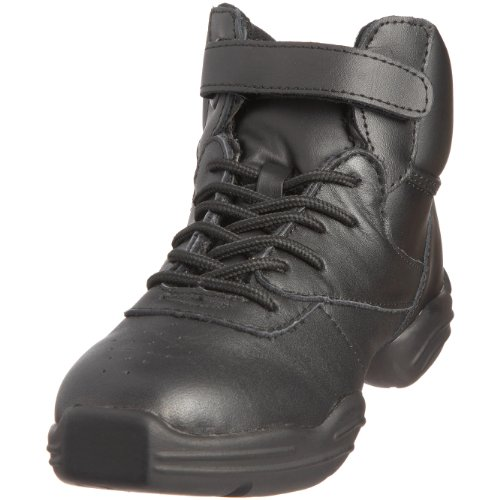 unisex Capezio de Schwarz Zapatillas DS01 Capezio Dansneaker cuero Negro d7Ydnvq4w