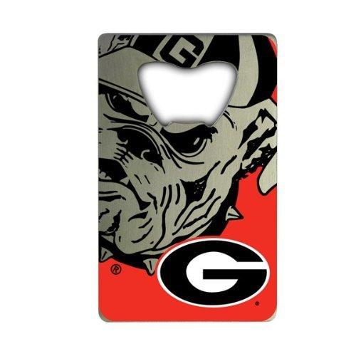 NCAA Georgia Bulldogs Credit Card Style Bottle Opener (Georgia Bulldogs Bottle Opener)