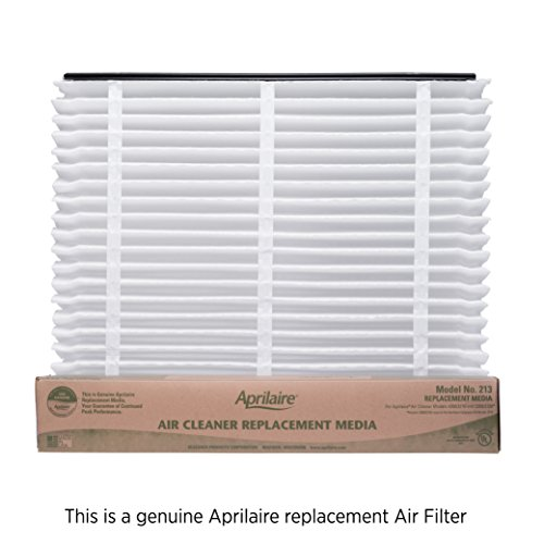 Aprilaire 213 Filter Single Pack for Air Purifier Models 1210, 2210, 3210, 4200, Space-Gard 2200
