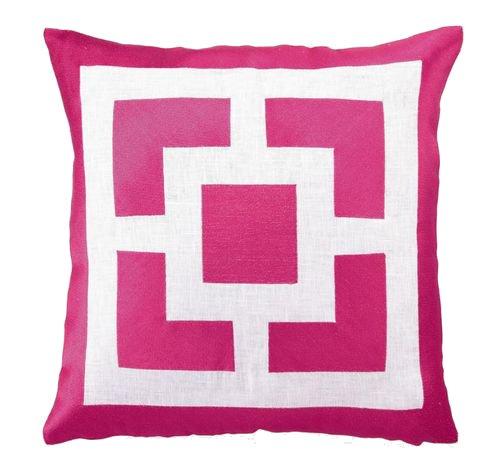 Peking Trina Turk Down-Filled Pillow, Palm Springs Blocks...