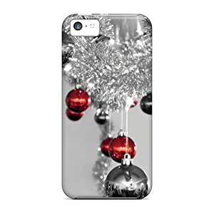 Anti-scratch And Shatterproof Redgrey Xmas Phone Cases For Iphone 5c/ High Quality Cases
