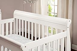 DaVinci Kalani 4-in-1 Convertible Crib with Toddler Rail, White