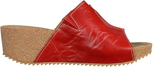 Josef Seibel 68707 Damen Pantoletten Rot