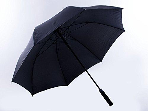 Gravidus Automatik Golfschirm Regenschirm Anti-Brechsystem 132 cm Durchmesser