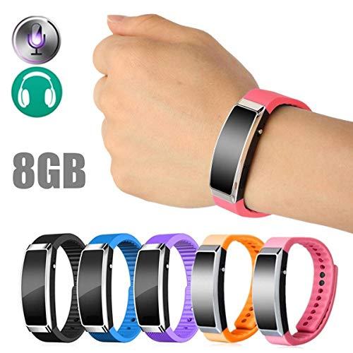 Digital 4GB/8GB Voice Recorder Wristband Bracelet USB Sound MP3 - Media Players Voice Recorders - (8GB) - 1 x Voice Recorder Wristband Bracelet ()