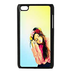 ZK-SXH - Selena Gomez Personalized Phone Case for iPod Touch 4,Selena Gomez Customized Cell Phone Case