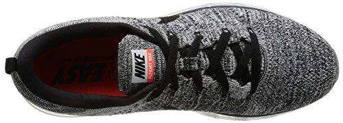 Nike Flyknit Air Max 620469-016 Scarpe Da Corsa Riflettenti Uomo Nero / Blu / Rosso Bianco / Nero