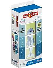 Magicube Ocean Animals - 3 kostki - Gra konstrukcyjna z kostkami magnetycznymi
