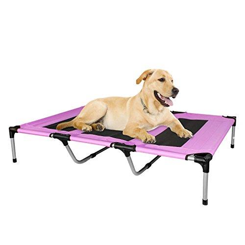 Kopeks - Elevated Indoor Outdoor Portable Bed - Extra Large Size Pink Color by KOPEKS (Image #6)