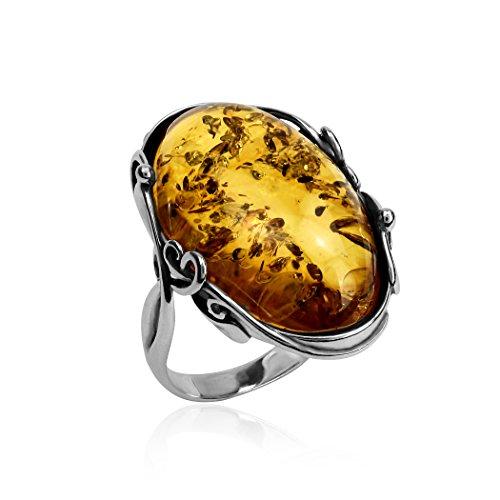 Large Amber Stone - 5