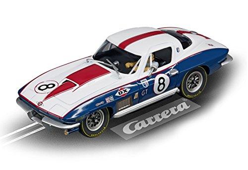 Carrera Evolution 27524 Corvette Sting Ray No. - 8 Carrera
