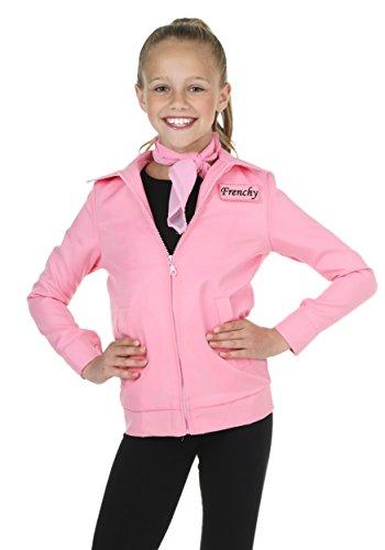 Child Authentic Pink Ladies Jacket Costume - L -