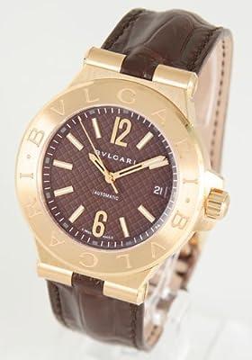 BVLGARI Bvlgari watch men's DG40C11GLD Diagono Classic limited model