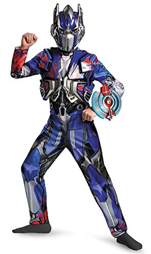 Disguise Hasbro Transformers Age of Extinction Movie Optimus Prime Deluxe Boys -