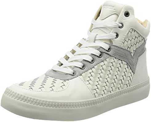 Diesel Men's V IS for S-Spaark Mid Woven Fashion Sneaker
