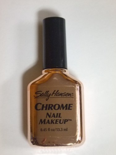 Sally Hansen CHROME NAIL MAKEUP Nail Polish #43 TAUPE PEARL CHROME