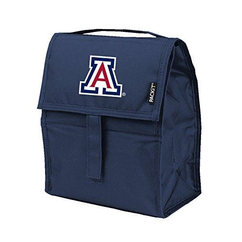 Kolder NCAA Arizona Wildcats Packit Freezable Lunch Bag, Red