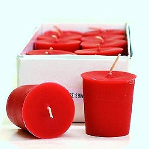 HollyBerry Scented 15 Hour Soy Votive Candle (6-Pack) ()
