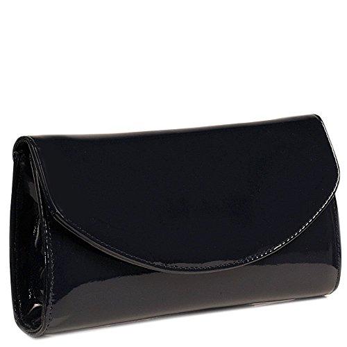 Martina Clutch Bag Navy Womens F Dal Van Marine Patent x1Xqw45I