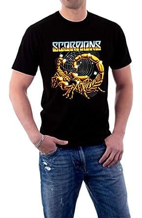 Scorpions Rock Music Metal Band Logo Tour T-shirt XX-Large Black