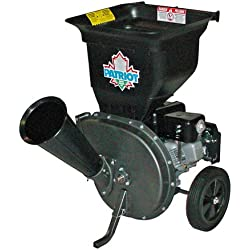 Patriot Products CSV-3065B 6.5 HP Briggs & Stratton Gas Powered Wood Chipper/Leaf Shredder