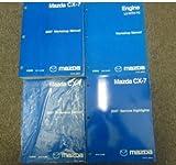 2007 Mazda CX-7 CX7 Service Repair Shop Manual 4 VOLUME SET FACTORY OEM BOOK 07