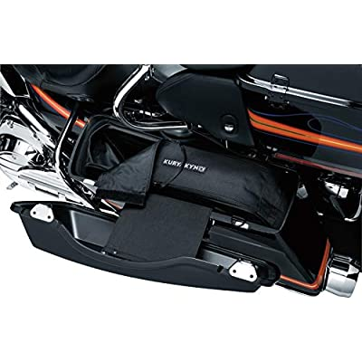 Kuryakyn 4170 Motorcycle Travel Luggage: Removable Saddlebag Liners with Carrying Handles and Removable Shoulder Straps, Black, 1 Pair: Automotive