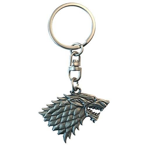 Game of Thrones Key060House of Stark Effet 3d Porte-clés