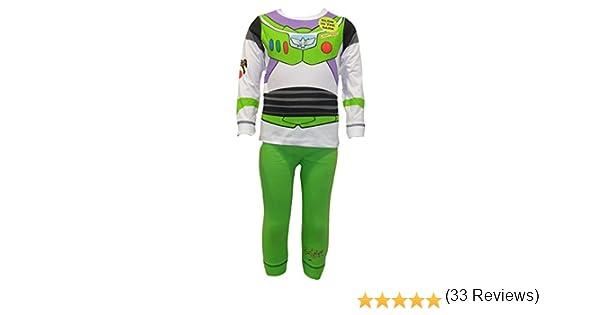 Disfraz de Disney Buzz Lightyear para niños de 4 a 5 años (116 cm ...