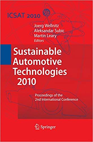 Sustainable Automotive Technologies 2010: Proceedings of the
