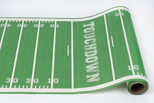 Touchdown Paper Table Runner 25 Foot American (Football Table Runner)