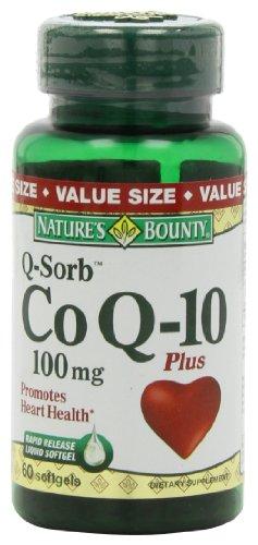 La générosité de la nature Co Q-10 100mg majoré des gélules, 60-Count