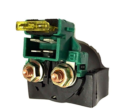 Starter Solenoid Relay 4 Pin Connector W/1 Fuse 20Amp 200cc 225cc 250cc