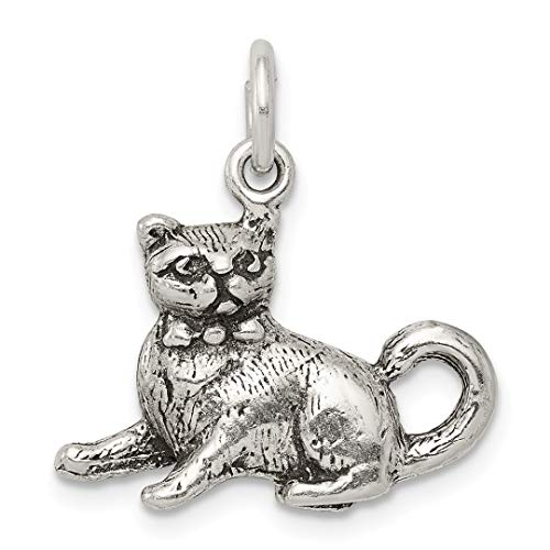 Swarovski Cat Collars (925 Sterling Silver Cat Pendant Charm Necklace Animal Fine Jewelry For Women Gift Set)