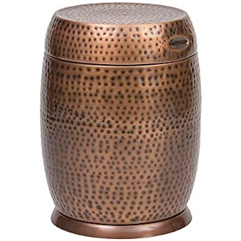 copper modern bronze drum hammered ac outdoors pierced amazon bombay madras in com metal dp stool garden table