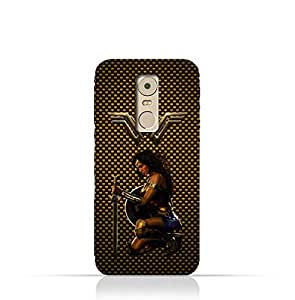 Lenovo K6 Note TPU Silicone Protective Case with Wonder Woman Design