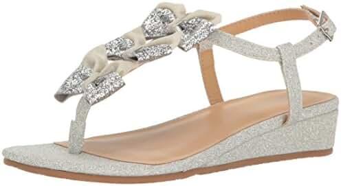 Badgley Mischka Kids' Talia Bow Dress Sandal