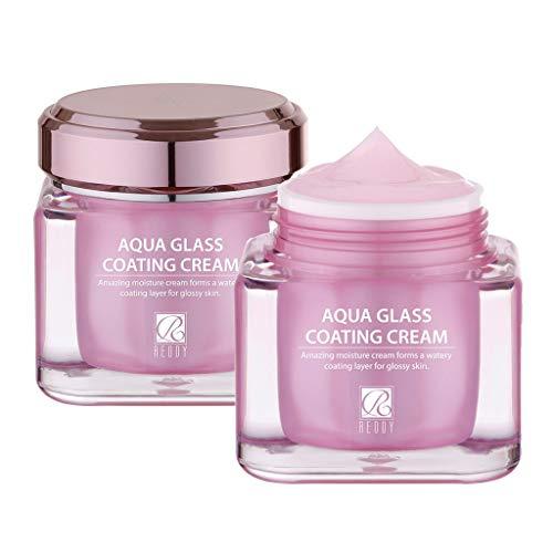 [REDDY] Aqua Glass Coating Cream 50g, Water Coating Moisture Cream, for Dewy Glow Base Make up Skin Care