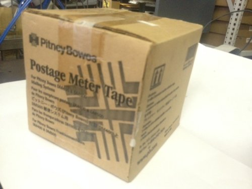 Pitney Bowes Postage Meter Tape 610-7 box of 3 rolls