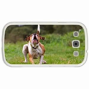 Customized Samsung Galaxy S3 SIII 9300 Hard Shell Cover Case Diy Personalized Designdog background White