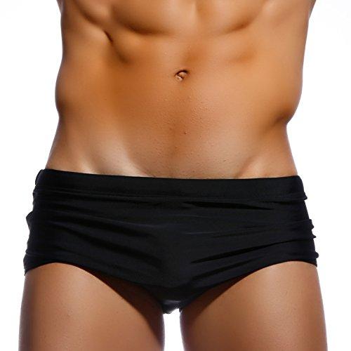 ZQ@QXBoxer fashion homme's plus size short confort,S,Black