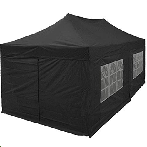 Delta 10'x20' Pop up 6 Walls Canopy Party Tent Gazebo Ez White - F Model Upgraded Frame Canopies
